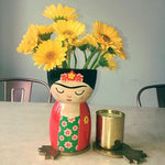 Frida Kahlo Vase - Red