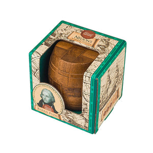 3D Puzzle Game Nelsons Barrel Great Minds in Wood