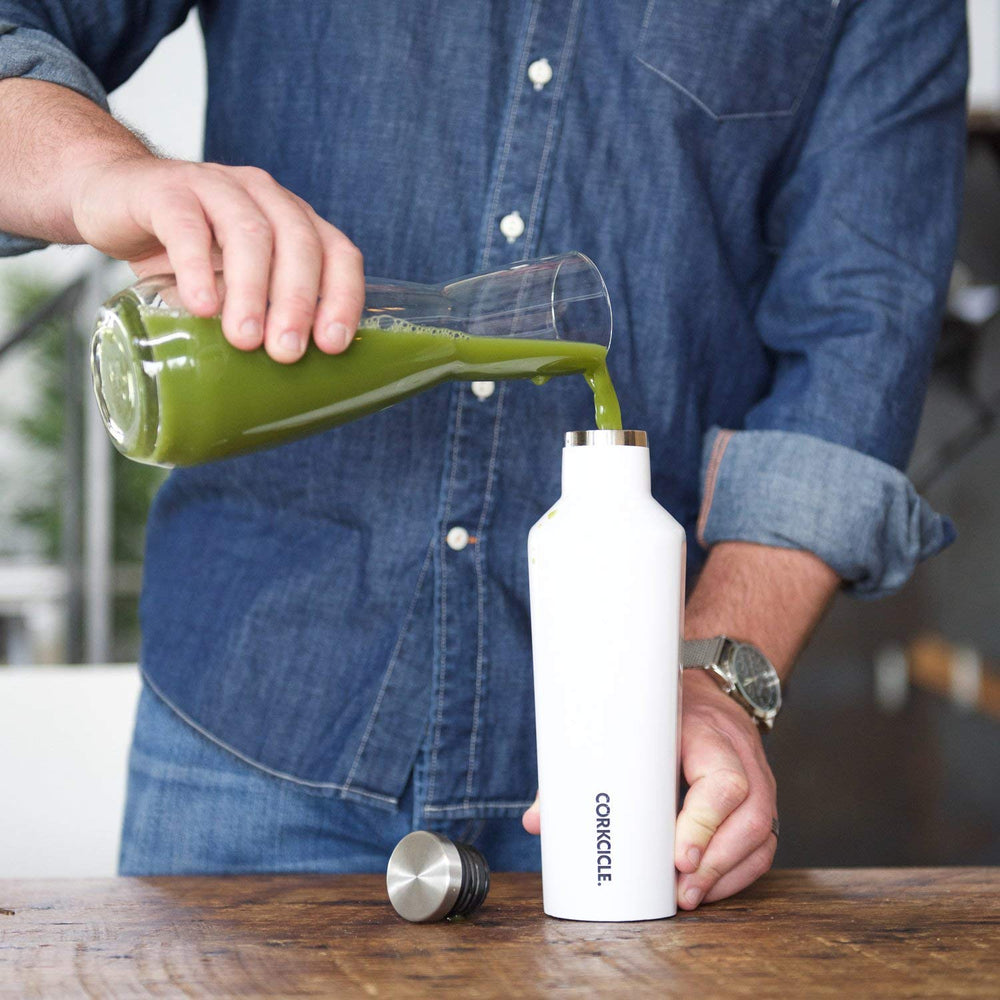 Corkcicle canteen 16 oz in white