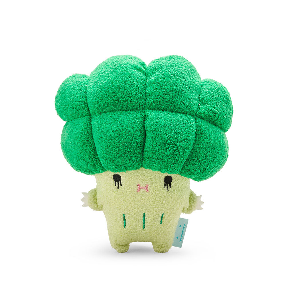Broccoli mini plush soft toy for children 'Riceccoli' in green