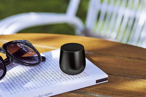 Load image into Gallery viewer, Ultra-portable bluetooth speaker in black