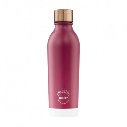 Insulated Bottle Raspberry Split