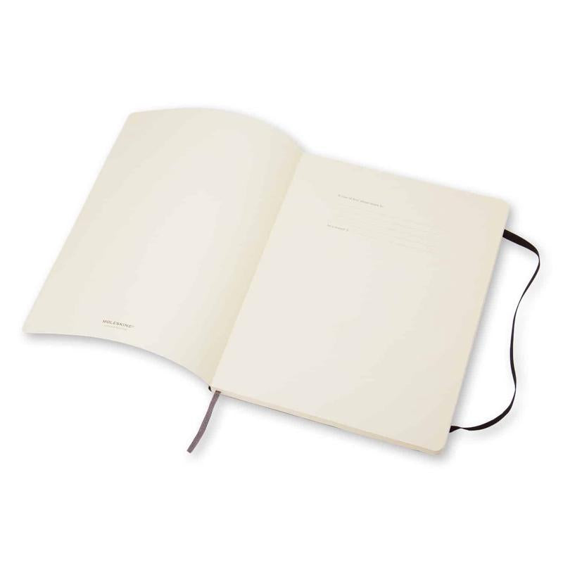 Notebook Ruled Extra Large Soft Cover in Black
