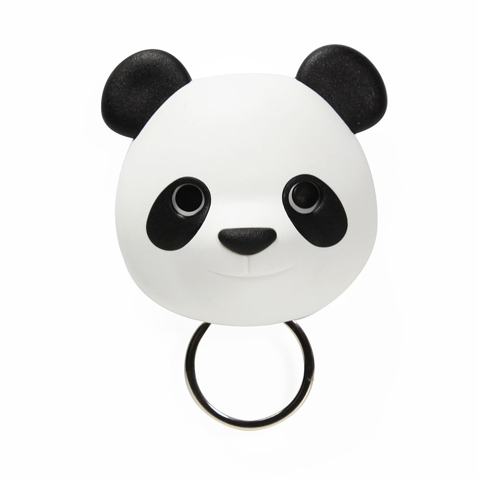 Load image into Gallery viewer, Keys holder wall mounted Panda in white