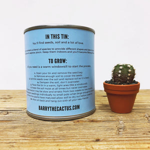 Grow Your Own Cactus Kit - Barry The Cactus
