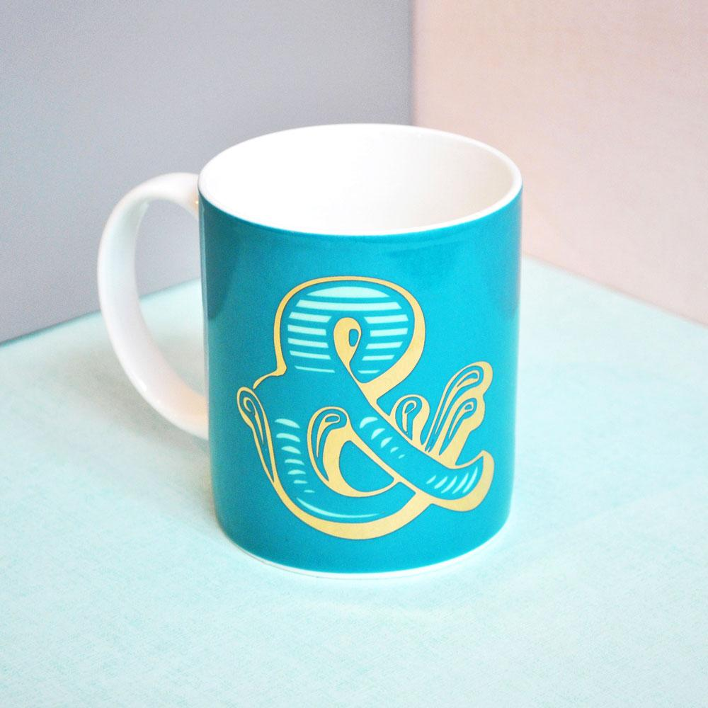 & | Luxury china mug Kitchen Huey - Brand Academy Store