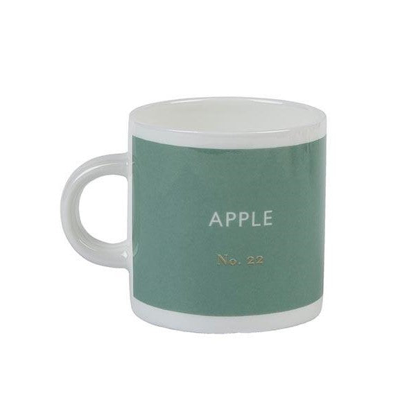 Apple green espresso cup Kitchen Designed in Colour - Brand Academy Store