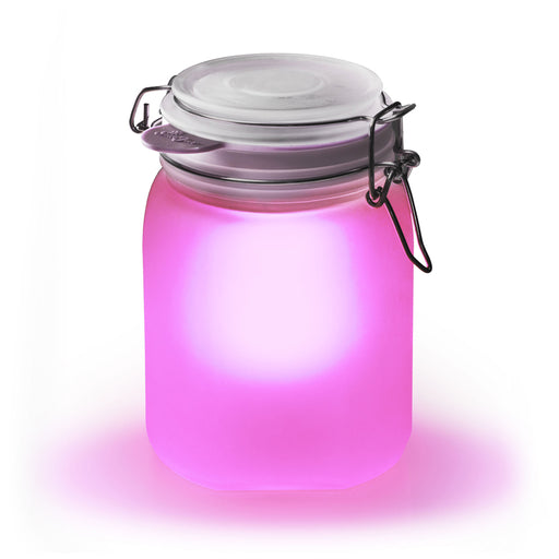 Sun Jar - Solar Powered Light Pink