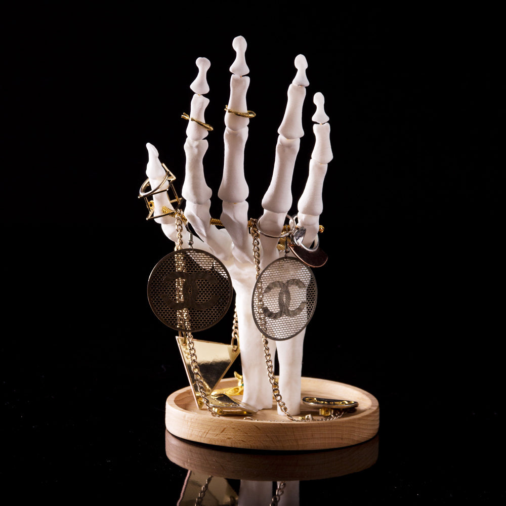 Load image into Gallery viewer, Skeleton Hand Jewellery Tidy