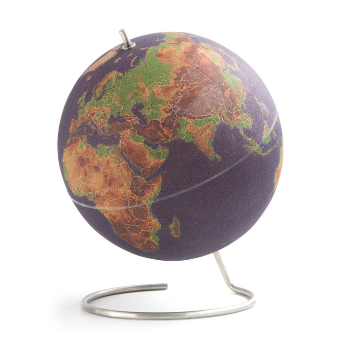 Coloured Cork Globe - Large