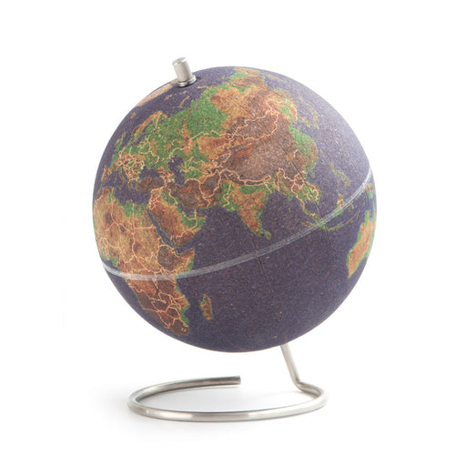 Coloured Cork Globe - Small