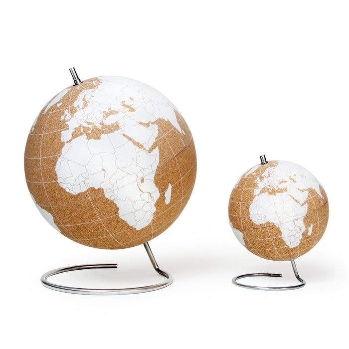 White Cork Globe - Large