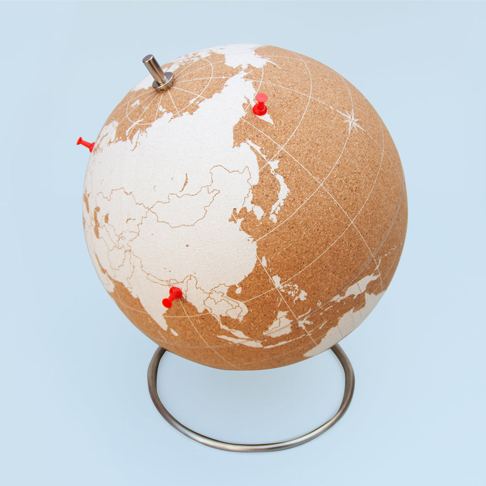 Load image into Gallery viewer, White Cork Globe - Large