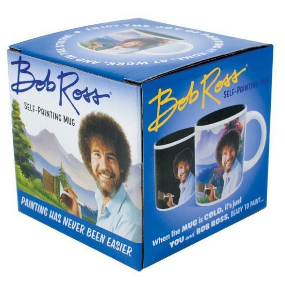 Load image into Gallery viewer, Mug Bob Ross Self Painting Heat Changing