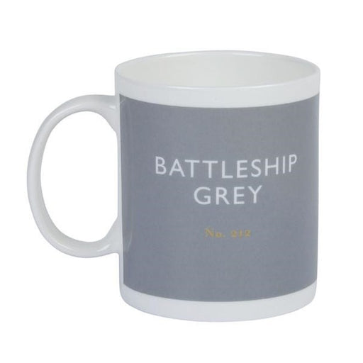 Battleship grey mug Kitchen Designed in Colour - Brand Academy Store