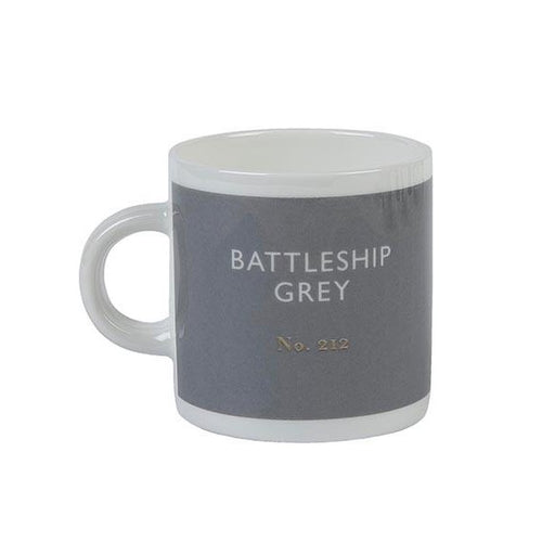 Battleship grey espresso cup Espresso cup Designed in Colour - Brand Academy Store