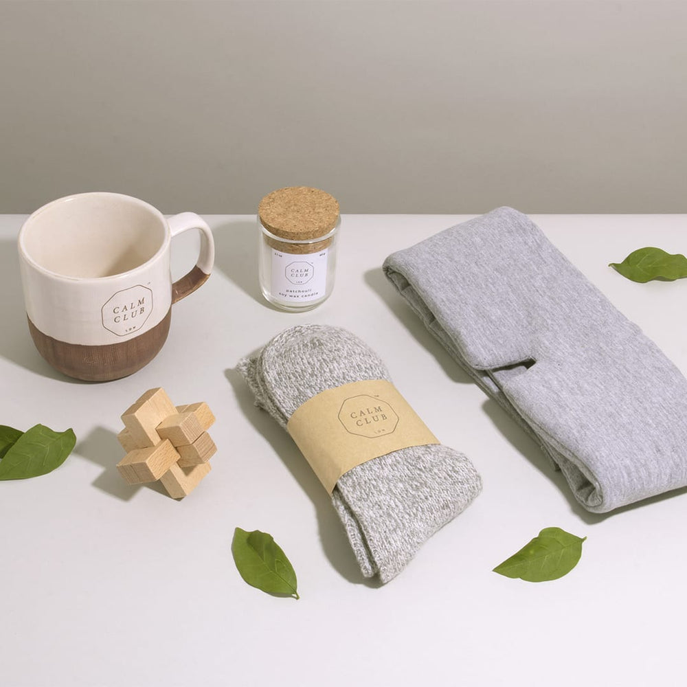 Pamper Gift set for cozy evenings set of 5 'Big Night In' collection