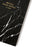 Black marble notebook A5 Stationery Wouf - Brand Academy Store