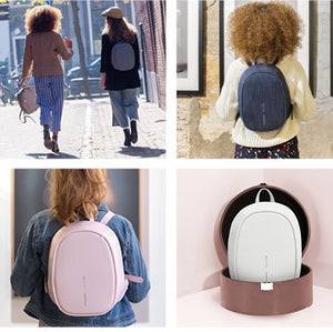 Bobby Elle anti-theft backpack | Pink