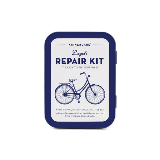 Bike Repair Kit Tin Outdoor KIKKERLAND - Brand Academy Store