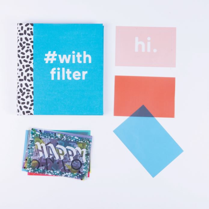 Photo album Blue #WithFilter Home Doiy - Brand Academy Store