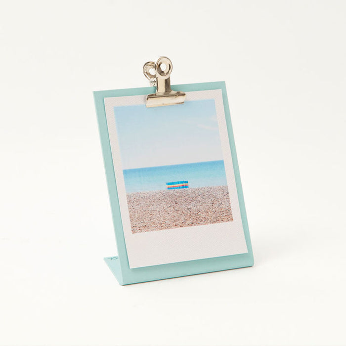 Small clipboard frame in mint blue
