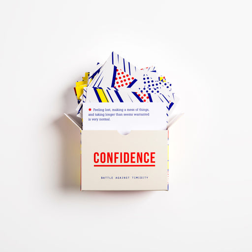 Confidence prompt cards Game The School of Life - Brand Academy Store