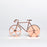Fixie copper bicycle pizza cutter Kitchen Doiy - Brand Academy Store