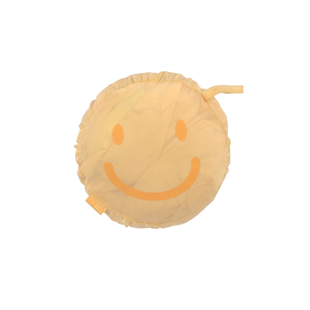 Load image into Gallery viewer, Rain Poncho Foldable Smile Yellow