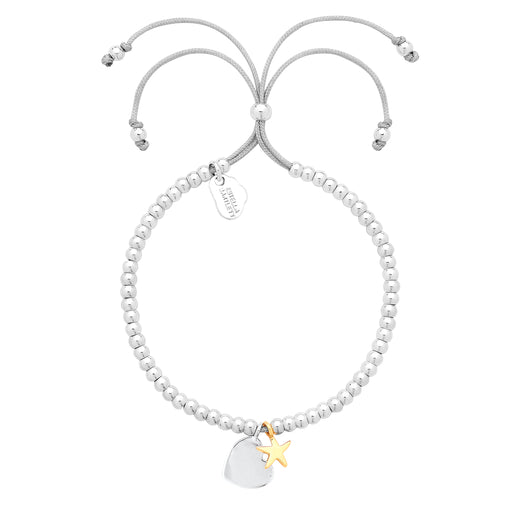 Heart and star bracelet Jewellery Estella Bartlett - Brand Academy Store
