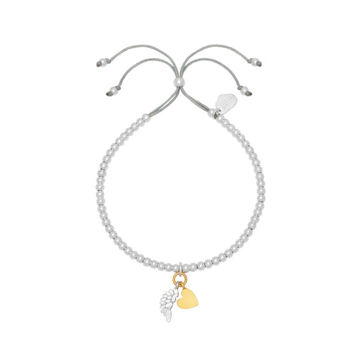 Heart and wing bracelet Jewellery Estella Bartlett - Brand Academy Store
