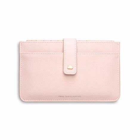 Travel wallet blush