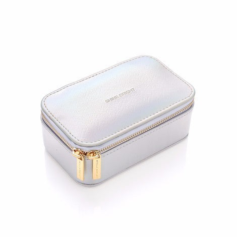 Mini jewellery box iridescent