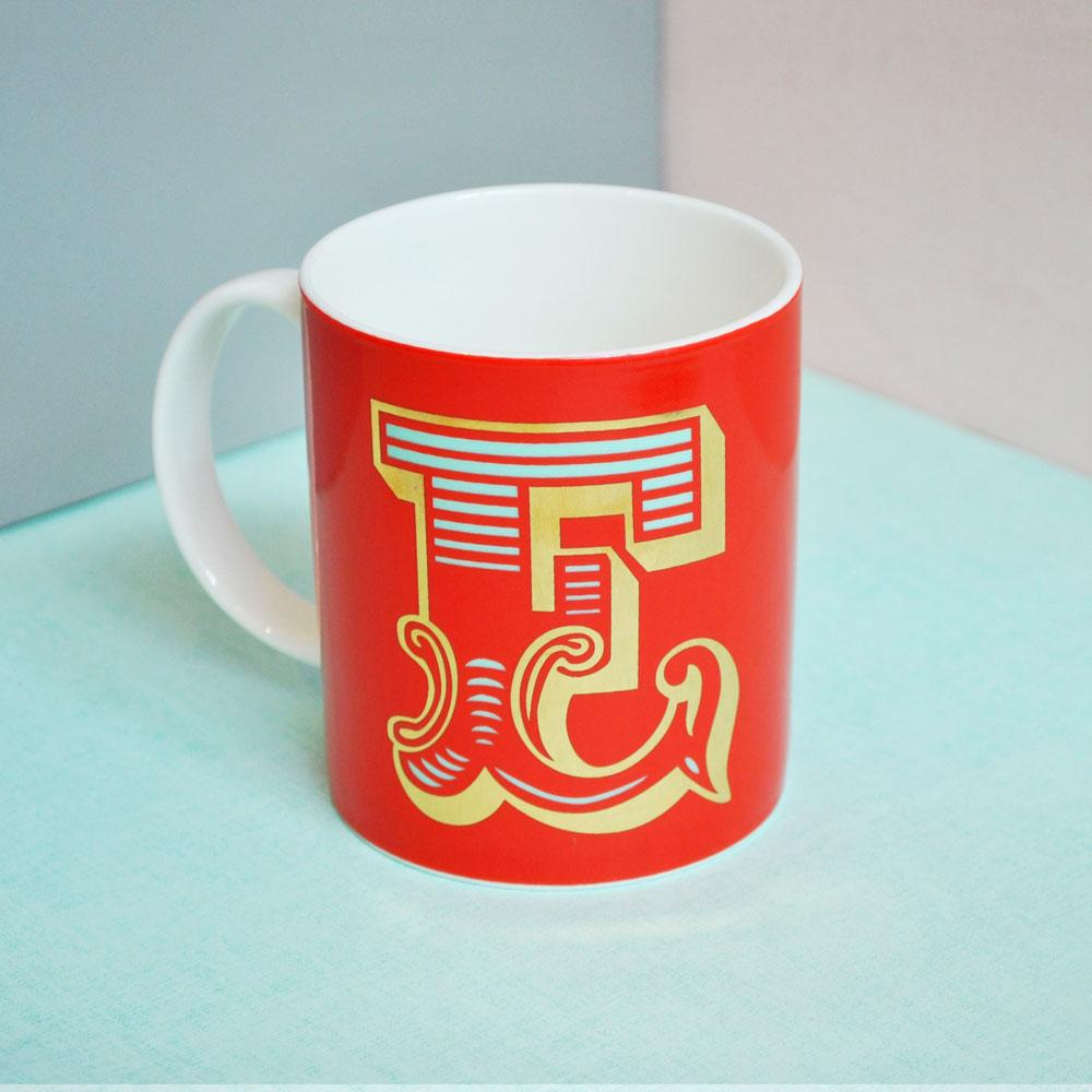 E | Luxury china mug Kitchen Huey - Brand Academy Store