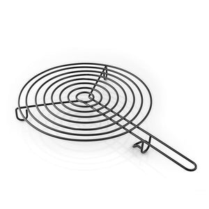 Grill Grid for Fire Pit Fireplace BBQ Fireglobe in Black