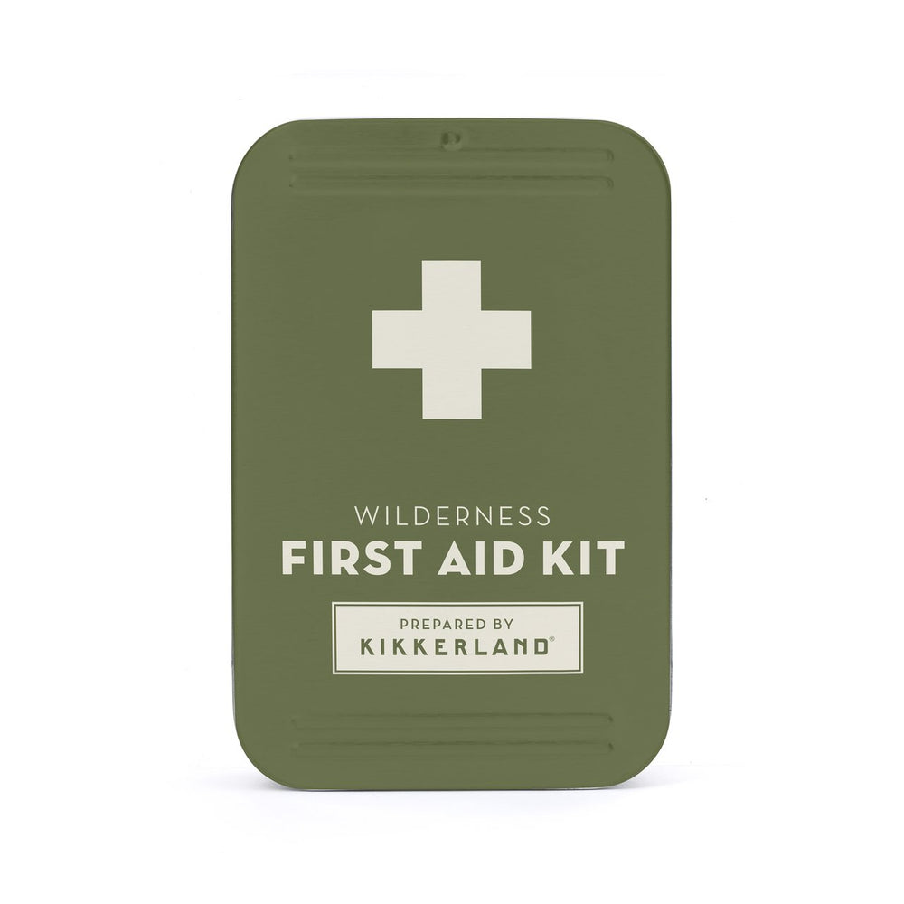 First Aid MINI Toolkit Wilderness Green