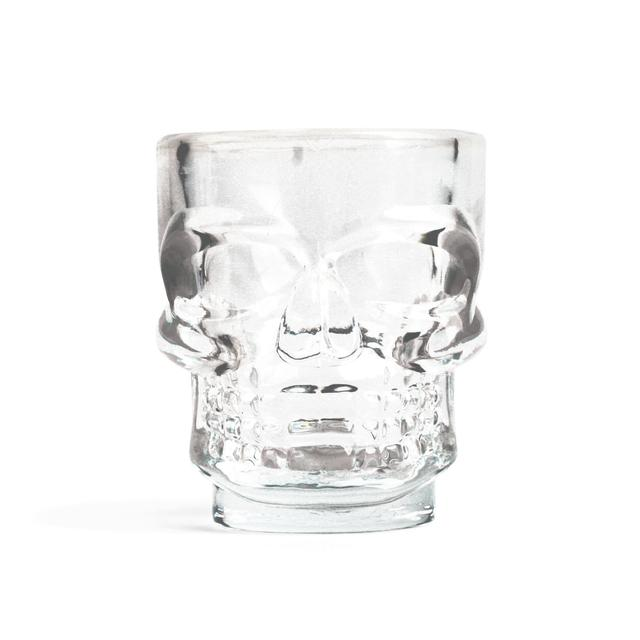 Set of 4 Shot Glasses Skull