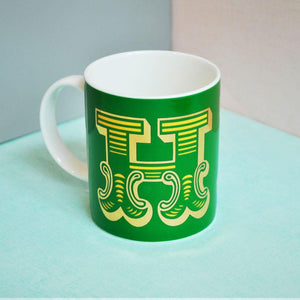 H | Luxury china mug Kitchen Huey - Brand Academy Store