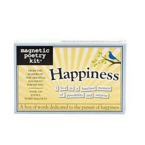 Magnetic Poetry Happiness Set Game Puzzle