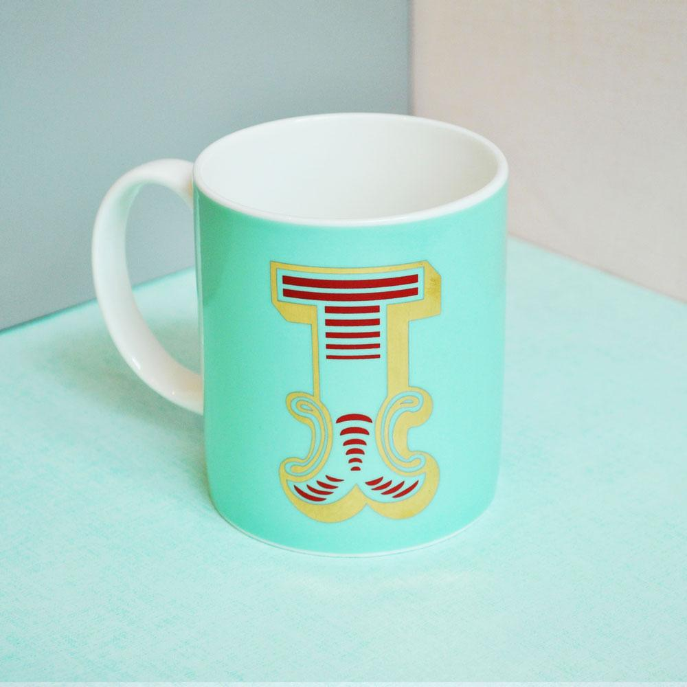 I | Luxury china mug Kitchen Huey - Brand Academy Store