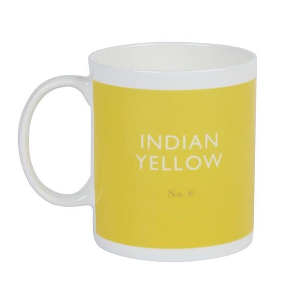 Indian yellow mug Mug Designed in Colour - Brand Academy Store