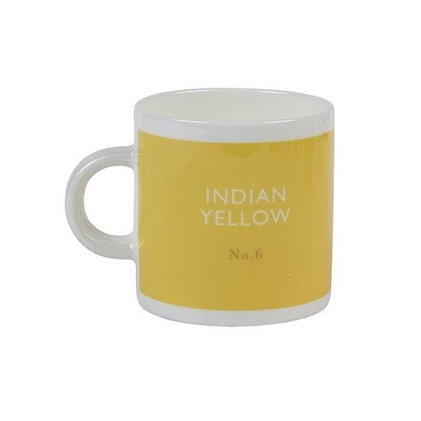 Indian yellow espresso cup Espresso cup Designed in Colour - Brand Academy Store