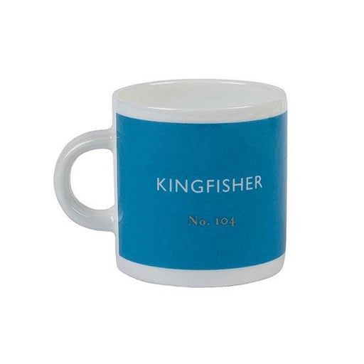 Kingfisher blue espresso cup Espresso cup Designed in Colour - Brand Academy Store