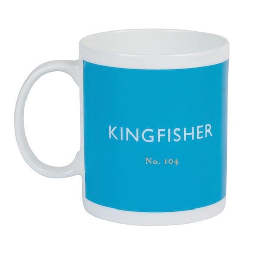 Kingfisher blue mug Mug Designed in Colour - Brand Academy Store