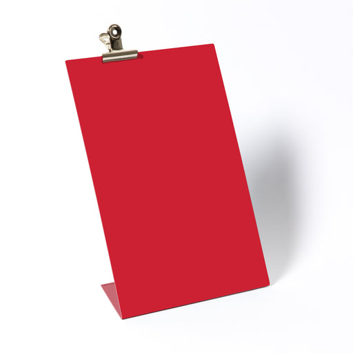 Clipboard frame large in red Home block - Brand Academy Store