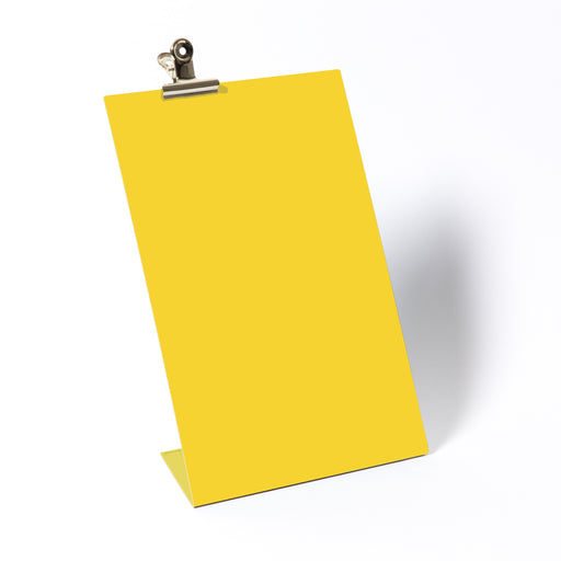 Clipboard frame large in yellow Home block - Brand Academy Store