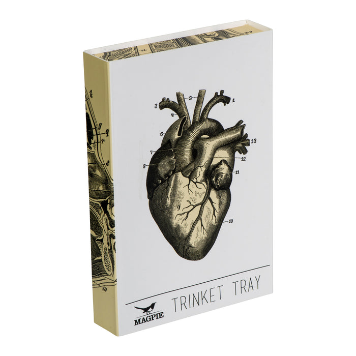 Trinket tray with anatomical heart illustration Kitchen cubic - Brand Academy Store