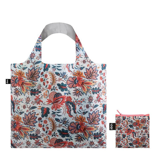 Foldable Tote bag with Indian tote bag artwork by MAD in multicolour