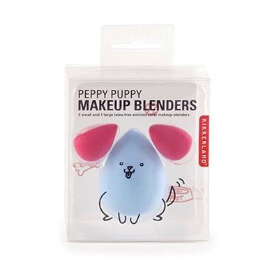 Make up blenders animal shape in blue and pink