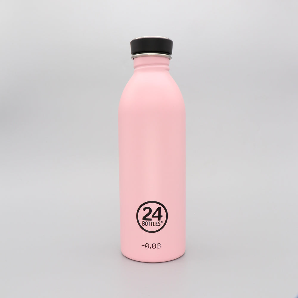 Water Bottle Lightweight 500ml Candy Pink